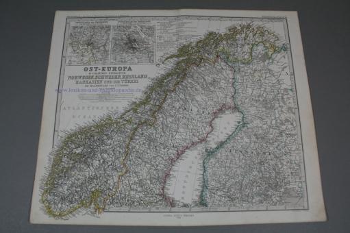 Stielers Hand Atlas über alle Theile der Erde und über das Weltgebäude, 84 Karten, 1868