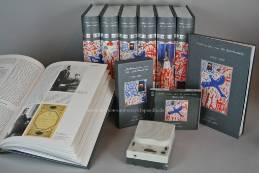 Dokumente des 20. Jahrhunderts Künstler-Edition Dieter Kunerth, 20 Bände & Phonobox | Nr. 354/999