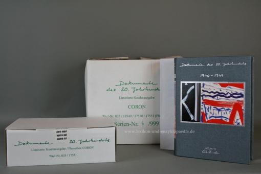 Dokumente des 20. Jahrhunderts Künstler-Edition Dieter Kunerth, 20 Bände & Phonobox | OVP