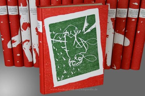 Bertelsmann Lexikothek Künstler-Edition Georg Baselitz, 15 Bände (A-Z), limitiert & handsigniert