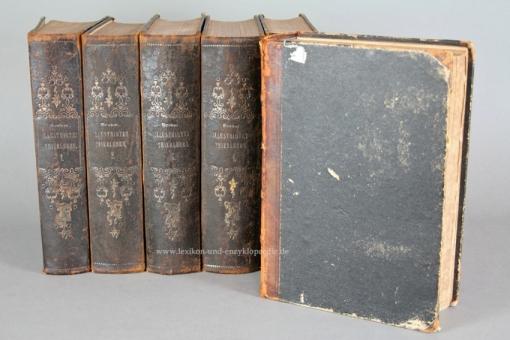 Brehms Illustriertes Thierleben / Tierleben, Erstausgabe, 6 Bände, 1864-1869 (I)