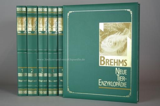 Brehms Neue Tier-Enzyklopädie, limitierte Exclusiv-Edition, 12 Bände | Nr. 1307/1999