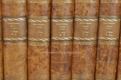Brockhaus Conversations-Lexikon 6. Auflage, in zehn (10) Bänden, 1824 (IV)