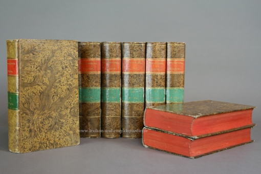 Brockhaus Conversations-Lexikon 8. Auflage, 12 Bände (A-Z), 1833-1837 (I)