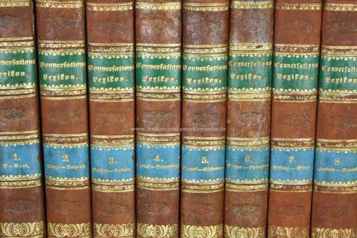 Brockhaus Conversations-Lexikon 11. Auflage, 15 Bände (A-Z), 1864-1868 (I)