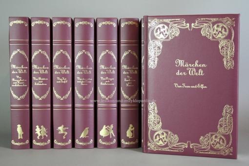 Märchen der Welt, seltene fuchsiafarbene Sonder-Edition, 12 Bände (Erste Staffel)