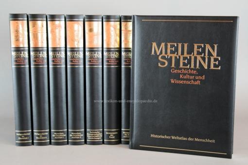 Meilensteine Geschichte, Kultur und Wissenschaft, Dritter Teil, 11 Bände incl. Video-DVD