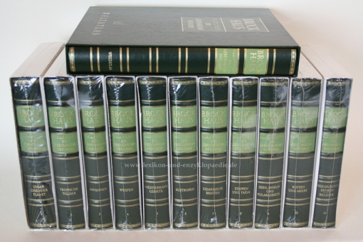 Brockhaus Biosphäre, Die Lebensräume der Erde, 12 Bände (incl. Weltatlas)   Neu & OVP