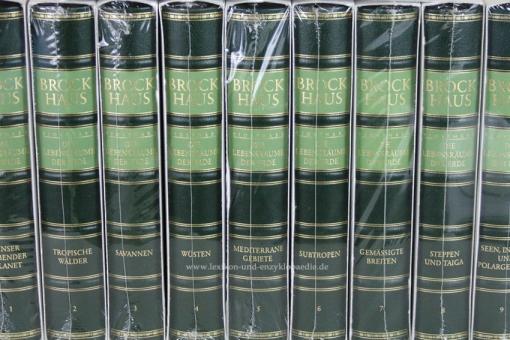 Brockhaus Biosphäre, Die Lebensräume der Erde, 11 Bände | Neu & OVP
