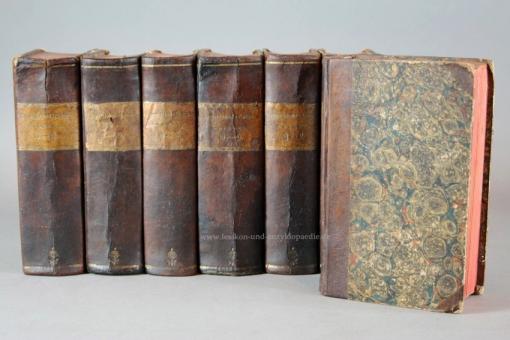 Brockhaus Conversations-Lexicon 2./3. Auflage, 14 Bände (incl. Supplemente), 1814-1824, selten