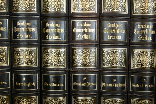 Brockhaus Conversations-Lexikon 13. Auflage, 16 Bände (A-Z), 1882-1887, Kulicke