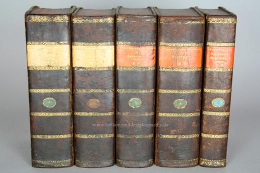 Brockhaus Conversations-Lexikon der Gegenwart, 4/5 Bände, 1838-1841