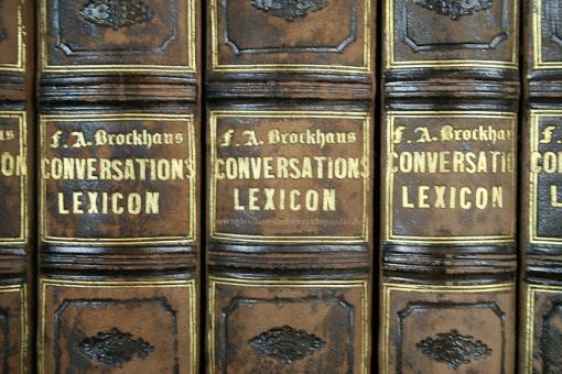 Brockhaus Conversations-Lexikon 10. Auflage, 18 Bände (incl. Unsere Zeit), 1851-1859