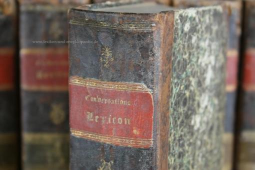 Brockhaus Conversations-Lexikon 6. Auflage, in zehn (10) Bänden, 1824 (II)