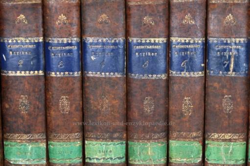 Brockhaus Conversations-Lexikon 7. Auflage, 12 Bände (A-Z), 1830