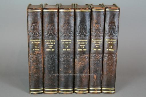 Brockhaus Conversations-Lexikon 10. Auflage, Band 14 (Seeleheilkunde - Thein), 1854 14
