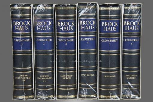Brockhaus Die Bibliothek, Gesundheit, 6 Bände (Exklusiv) | Neu & OVP