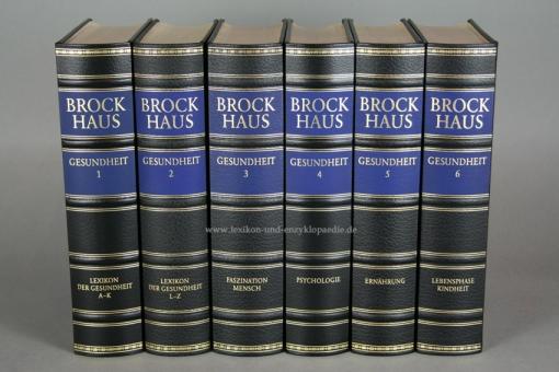 Brockhaus Die Bibliothek, Gesundheit, 6 Bände (Exklusiv)