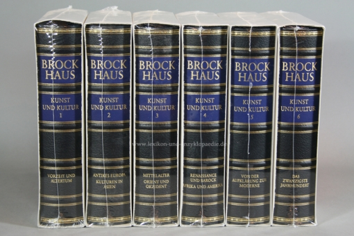 Brockhaus Die Bibliothek, Kunst und Kultur, 6 Bände (Exklusiv) | Neu & OVP
