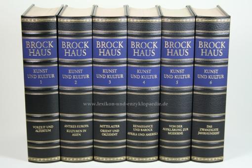 Brockhaus Die Bibliothek, Kunst und Kultur, 6 Bände (Exklusiv)