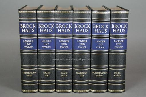 Brockhaus Die Bibliothek, Länder und Städte, 6 Bände (Exklusiv)