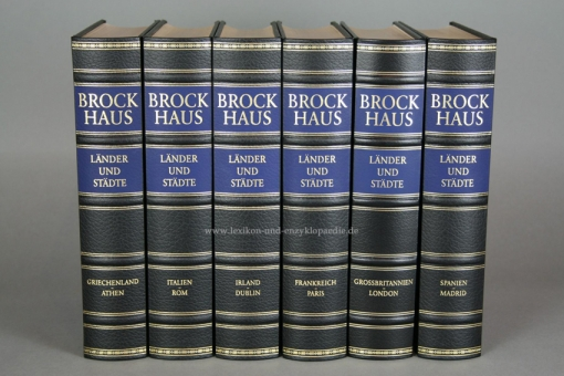 Brockhaus Die Bibliothek, Länder und Städte, Einzel-Band (Exklusiv)