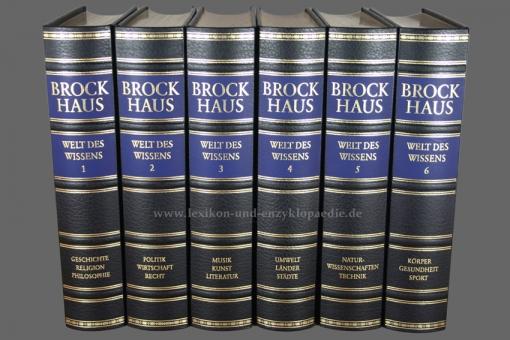 Brockhaus Die Bibliothek, Welt des Wissens, 6 Bände (Exklusiv)