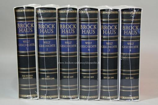 Brockhaus Die Bibliothek, Weltgeschichte, 6 Bände (Exklusiv) | Neu & OVP