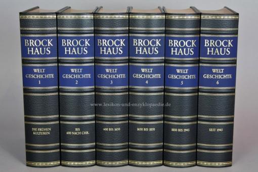Brockhaus Die Bibliothek, Weltgeschichte, 6 Bände (Exklusiv)