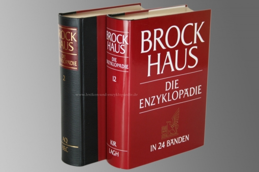 Brockhaus Die Enzyklopädie 20. Auflage, Einzel-Band, Halbleder