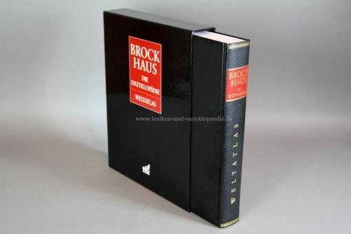 Brockhaus (Die Enzyklopädie) Der Weltatlas, 5. Auflage, 2008