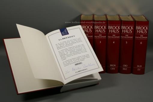 Brockhaus Die Enzyklopädie 20. Auflage, 24 Bände (A-Z) Nummer 103/980