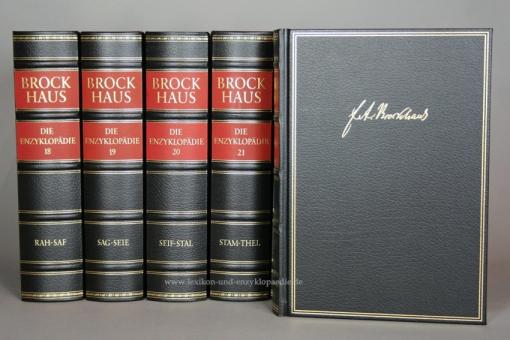 Brockhaus Die Enzyklopädie 20. Auflage, 24 Bände (A-Z) Exklusiv