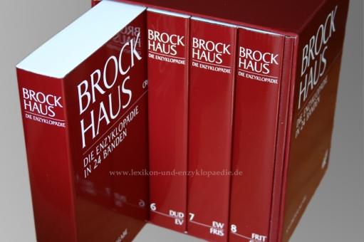 Brockhaus Die Enzyklopädie 20. Auflage, 24 Bände (A-Z) Studienausgabe