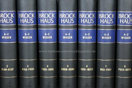 Brockhaus Enzyklopädie A-Z Wissen, 12 Bände (2010/2012)