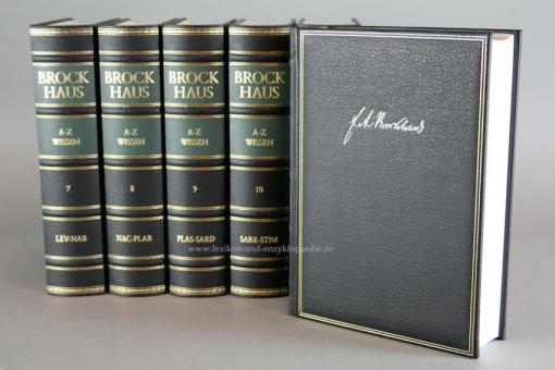 Brockhaus Enzyklopädie A-Z Wissen, 12 Bände (2005/2009)
