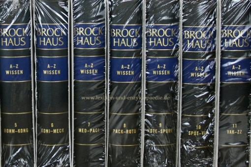 Brockhaus Enzyklopädie A-Z Wissen, 12 Bände (2010/2012)   Neu & OVP