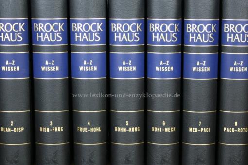 Brockhaus A-Z Wissen & Themenwissen, 18 Bände (2010/2012)