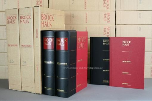 Brockhaus Enzyklopädie 21. Auflage, 30/31 Bände (A-Z, BE Multimedial & Audiothek) | Neu & OVP
