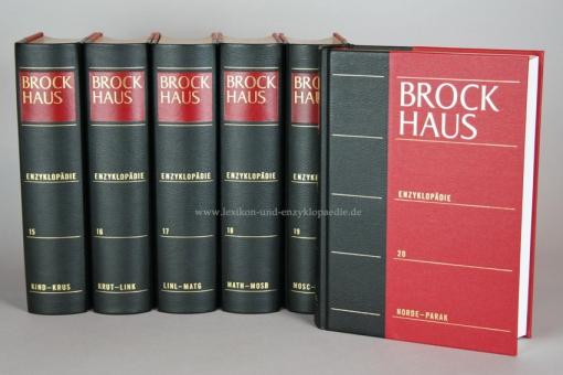 Brockhaus Enzyklopädie 21. Auflage, Einzel-Band
