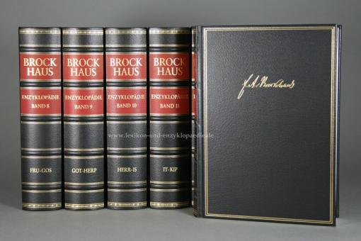 Brockhaus Enzyklopädie 19. Auflage, 24 Bände (A-Z) Exklusiv