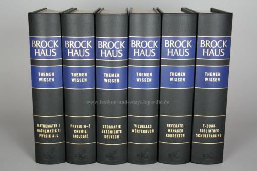 Brockhaus Themenwissen, 6 Bände (2010/2012)