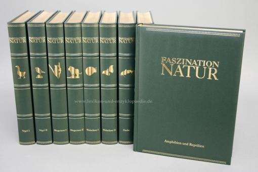 Brockhaus Faszination Natur, alle 25 Bände (Tiere, Pflanzen & Lebensräume)