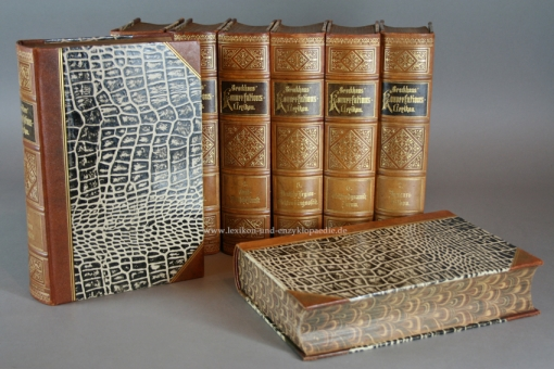Brockhaus Konversations-Lexikon 14. Auflage, 17 Bände, 1898, J.H. Müller (Rev. Jubiläums-Ausgabe)