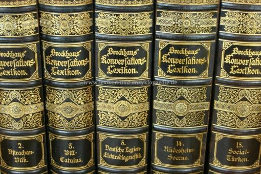 Brockhaus Konversations-Lexikon 14. Auflage, Einzel-Band, 1892 ff. Kulicke