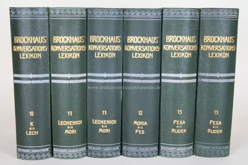 Brockhaus Konversations-Lexikon 14. Auflage, Band 11, 1908 (Lechenich - Mori) 11