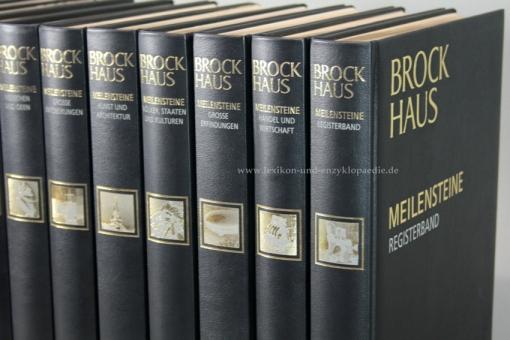 Brockhaus Meilensteine Geschichte, Kultur und Wissenschaft, 21 Bände & AudioPen