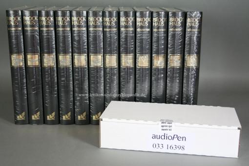 Brockhaus Meilensteine Geschichte, Kultur und Wissenschaft, letzte Ausgabe, 21 Bände & AudioPen | Neu & OVP