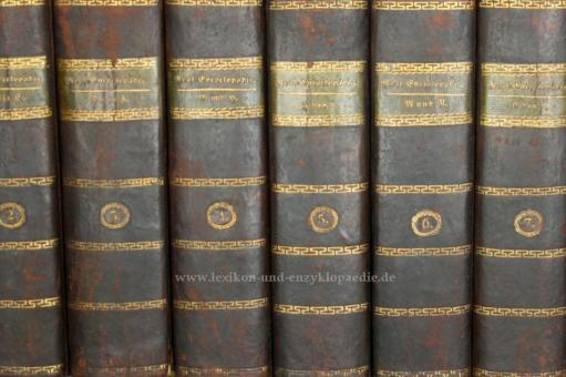 Brockhaus Conversations-Lexikon 5. Auflage, 10 Bände (A-Z), 1820