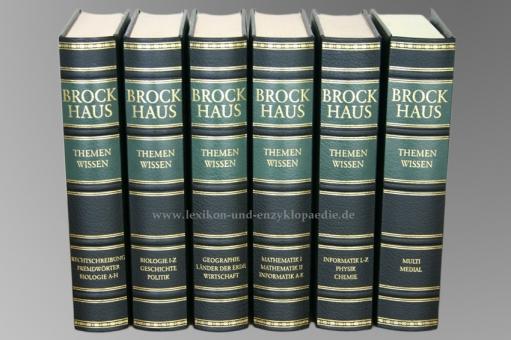 Brockhaus Themenwissen, 6 Bände (2005/2009)